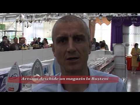 (P) Artsani deschide un magazin la Bușteni
