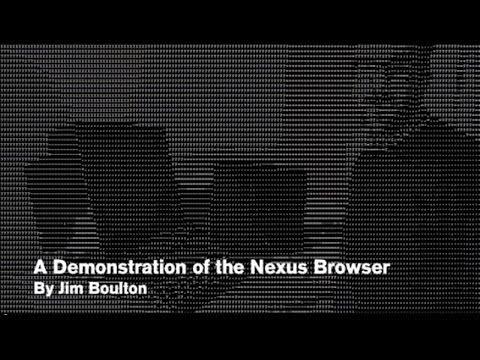www.digial-archaelogy.org demo of Nexus