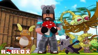 STEALING FROM POKEMON + SHINY ALOLAN EXEGGUTOR!! | Pokémon Brick Bronze [#82] | ROBLOX