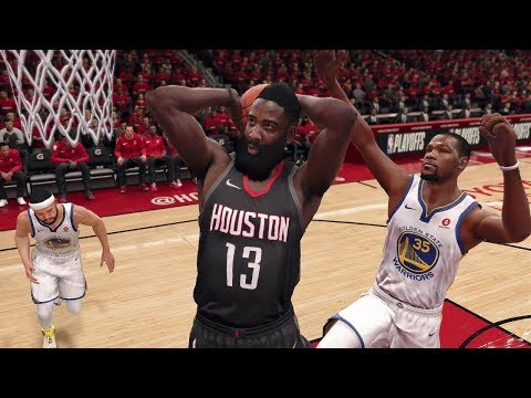 NBA LIVE 2018 Playoffs Golden State Warriors vs Houston Rockets Full Game 2 NBA Finals   NBA LIVE 18