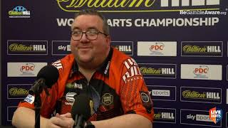 "Stephen Bunting: ""I honestly thought I was out there and crying on the phone to the missus"""