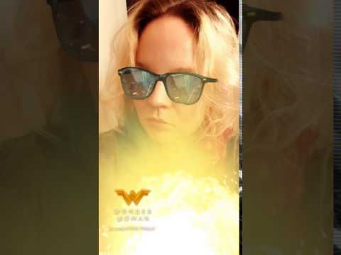 Super Harley Quinn Wonder Woman Snap Chat Filter 3