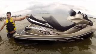 8. Testing the new 2012 Kawasaki Ultra 300 LX in Lakeland