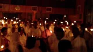 Ethiopian Orthodox Tewahedo Church In Winnipeg Canada Easter Celebration - April 14 2012