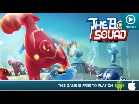 The Bot Squad: Puzzle Battles – Free On Android & iOS – HD Gameplay