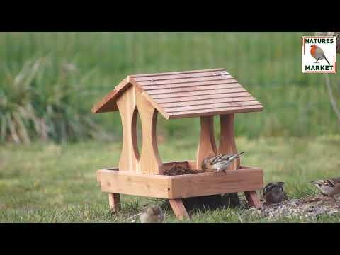 Nichoirs et nourritures pour oiseaux - Fabrication française