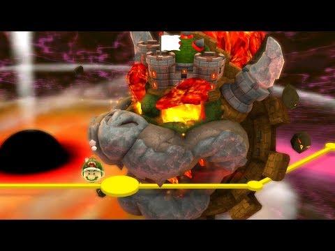 Super Mario Galaxy 2 - All Final Castles (видео)