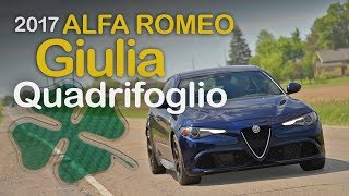 It's not every day a new vehicle really impresses us. But the 2017 Alfa Romeo Giulia Quadrifoglio is anything but an everyday car. There's such a sense of occasion driving this Alfa Romeo sedan. In a sea of Bimmers and Benzes, it stands out like a bikini-clad Kate Upton at Walmart. Subscribehttp://www.youtube.com/subscription_center?add_user=AutoGuideVideoYouTube - http://www.youtube.com/user/AutoguideVideoFacebook - http://facebook.com/AutoGuideTwitter - http://twitter.com/AutoGuideGoogle+ - http://goo.gl/LBxsPWeb - http://www.AutoGuide.comAutoGuide reviews the latest new cars with test drives, car comparisons and shootouts plus coverage of breaking auto industry news, auto shows, rumors and spy photos. Help shop for your new car with informative car buying tips and car recall news, and be entertained with feature stories, Top 10s and car review videos.