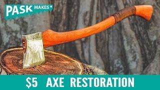 Video $5 Axe Restoration MP3, 3GP, MP4, WEBM, AVI, FLV April 2019