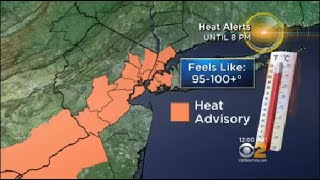 Temperatures could feel hotter than 100 degrees Tuesday as a heat advisory goes into effect for the Tri-State area.
