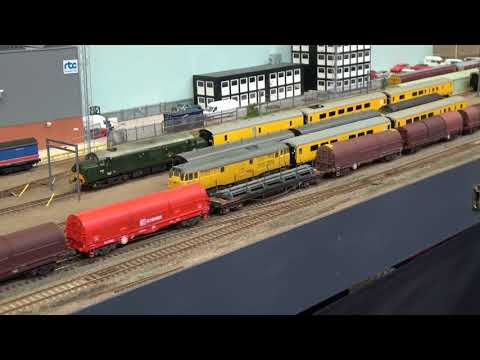 Modelling Railroad Toy Train Track Plans -Tremendous Derby Model Railway Exhibition 2018 – Part 1