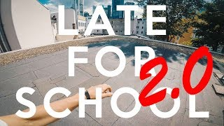 LATE FOR SCHOOL 2.0 PARKOUR - POV - iT HAPPENED AGAIN