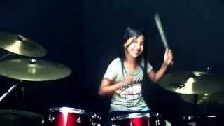 Dan Chak Thailand  city pictures gallery : Meru Meru Thailand Song - Drum Cover by Nur Amira Syahira