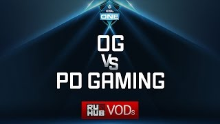 OG vs PD Gaming, ESL One Genting Quals, game 2 [4ce]