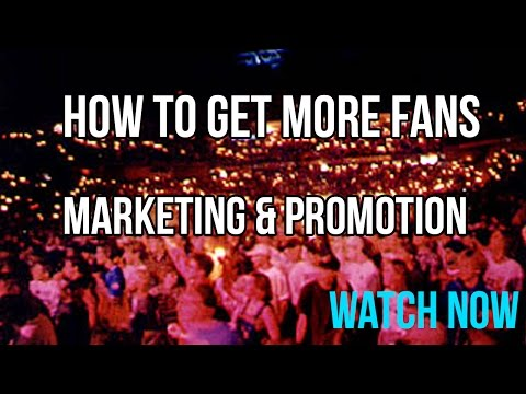 Music Marketing – How To Get Fans Online & Offline