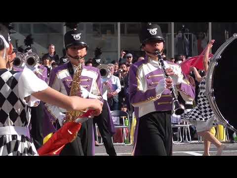 桜まつりパレード 春日部市立豊野中学校