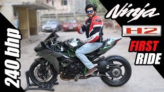 Kawasaki Ninja H2 !! | First Ride !!