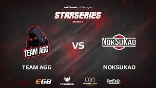 NokSuKao vs AGG, game 1