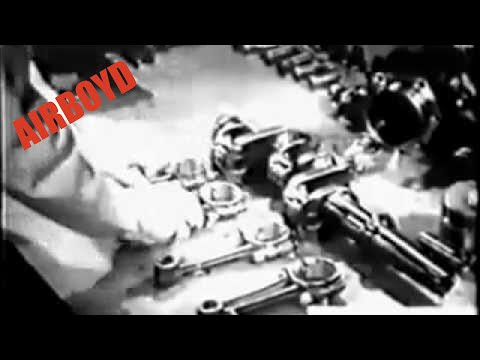 Overhauling Crankshaft Assembly – Aircraft Power Plant Maintenance (1945)