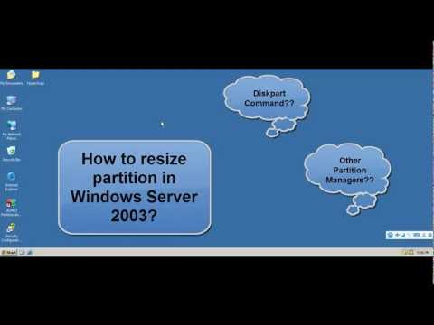 Resize Partition in Windows Server 2003.mp4