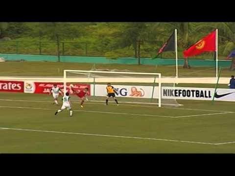 Spectacular overhead kick in 5-1 defeat