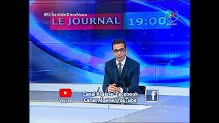 Journal d'Information 19H : 27-03-2020 Canal Algérie