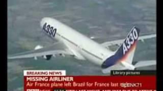 AIRBUS A330 200 Air France Plane Crash Accident Flight 447 Rio Paris June 1 2009 Absturz  Flu 785241
