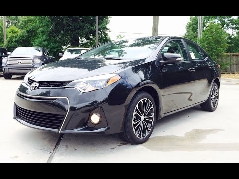 2014 Toyota Corolla S Plus Exhaust, Start Up and In Depth Review