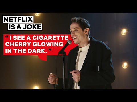Pete Davidson's Oddly Specific Sex Story About His Dad  | Netflix Is A Joke