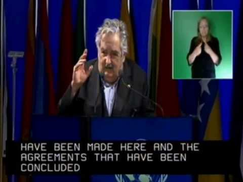 Discurso memorable del presidente uruguayo Mújica