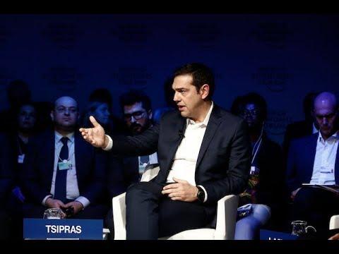 Παρέμβαση στo πάνελ «Σταθεροποιώντας τη Μεσόγειο» στο πλαίσιο του Παγκόσμιου Οικονομικού Φόρουμ