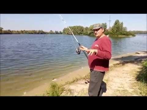 видео ловля сома на реке днепр