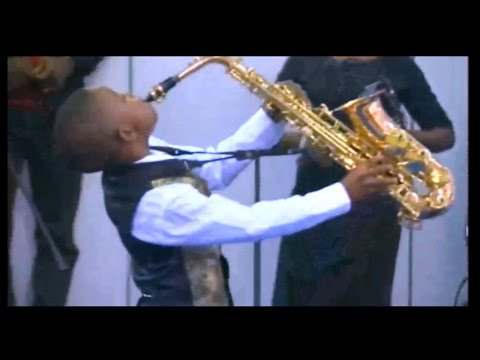 Young Anointed Saxophonist @ Mummy G.O.'s Birthday Celebration