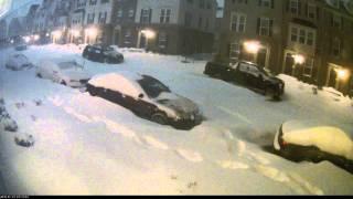 January 2016 Snowmageddon - Arcola, VA: 12pm Jan 22 - 11am Jan 23