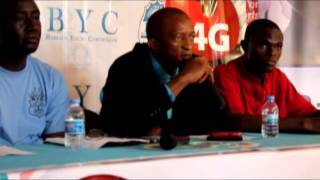 BYC Football Media Launch CAF Confederation Cup Match 2013