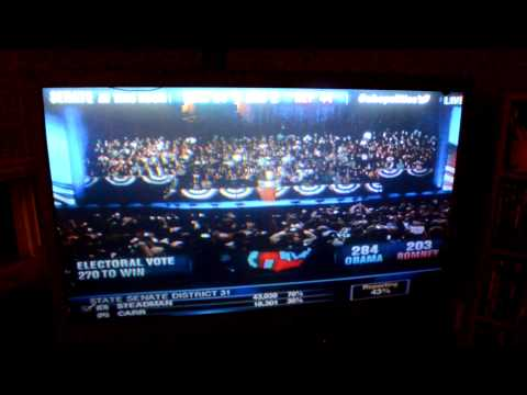 Fix Voting Problems - Obama's Acceptance Speech 2012