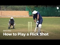 How to Play a Flick Shot   Cricket