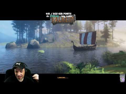 Valheim - Viking Survival Fun with Draax (Stream VOD)