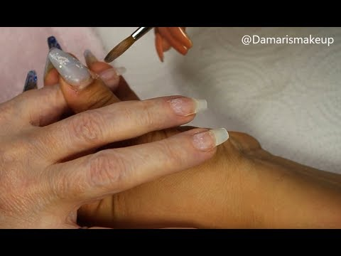 Videos de uñas - Uñas Acrilicas Glamurosa 2019