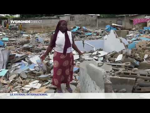 Côte d'Ivoire : après les inondations d'Abidjan, les sinistrés trouvent refuge dans un cimetière