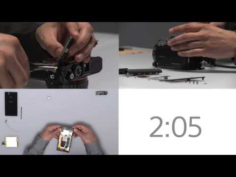 Sony Publishes Xperia Z Assembly Video