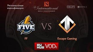 Escape vs Fantastic Five, game 3