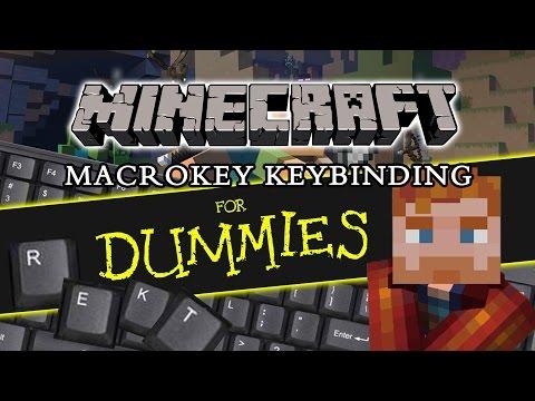 MINECRAFT KEYBINDING   MacroKey Keybinding Mod