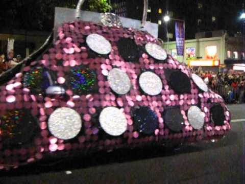 mardi gras parade - Part2 is here: http://www.youtube.com/watch?feature=player_embedded&v=xIXEV2tidVU Please set MUTE if you feel sound broken. My Sony Cyber-Shot seems broken w...