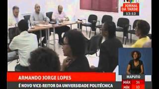 Professor Catedrático Armando Jorge Lopes novo Vice Reitor da Universidade Politécnica