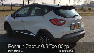 Video Renault Captur 0.9 Tce 90 hp 0-100 km/h MP3, 3GP, MP4, WEBM, AVI, FLV Oktober 2017