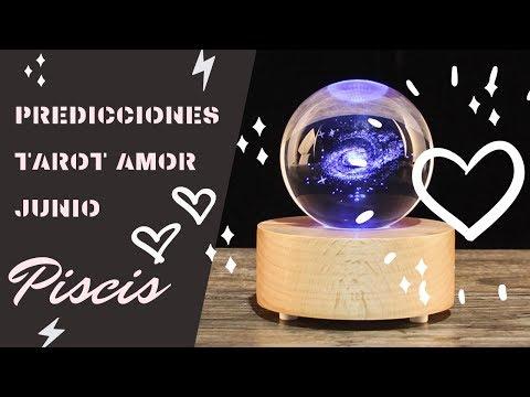 Tarjetas de amor - Piscis  Tarot Amor Junio 2019
