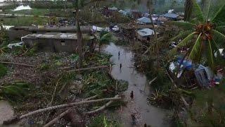 Ouest Haiti  city photo : Haïti: images aériennes du sud-ouest, dévasté par Matthew