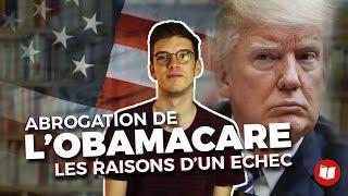 Vidéo - Abrogation de l'Obamacare : les raisons de l'échec de Donald Trump
