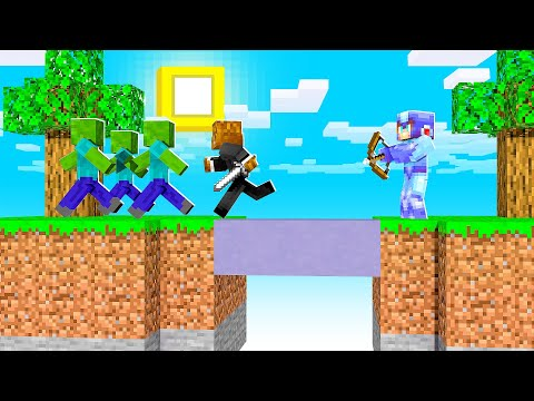 Breaking Monster Island In Minecraft | JeromeASF